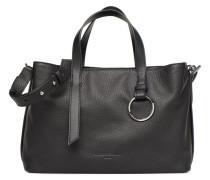 Satchel L Handtasche in schwarz