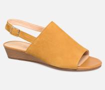 MENA LILY Sandalen in gelb