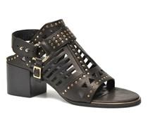 MACKENZY Sandalen in schwarz