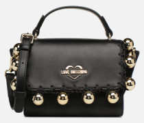 GOLDEN BALLS BAG Handtasche in schwarz