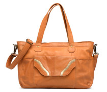 Imsa Leather Shoulder Bag Handtasche in braun