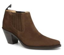 Jane 7 Low Chelsea Boot Stiefeletten & Boots in grün