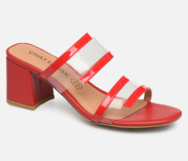 LUPIN Clogs & Pantoletten in rot
