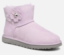 Mini Bailey Button Poppy Stiefeletten & Boots in rosa