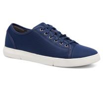 Lander Cap Sneaker in blau