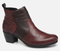 Dina Stiefeletten & Boots in weinrot