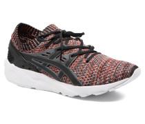 Gel Kayano Trainer Knit Sneaker in schwarz