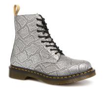 Vegan Pascal Metallic Stiefeletten & Boots in grau