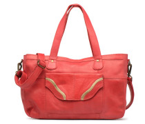 Imsa Leather Shoulder Bag Handtasche in rot