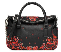 MANUELA FOULARD LOVERTY Handtasche in schwarz