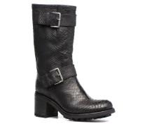BIKER 7 MID STRAP DIAMENTE WASH Stiefeletten & Boots in schwarz