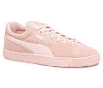 Suede S Wns Sneaker in rosa