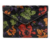 Leo Clutch Floral Velvet Handtasche in mehrfarbig
