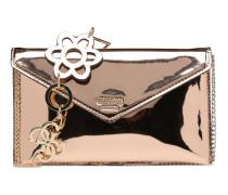 Spring Fling Crossbody Clutch Handtasche in goldinbronze