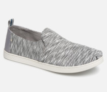 Deconstructed Alpargata Sneaker in grau