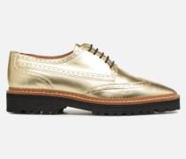 Pastel Affair Chaussures à Lacets #5 Schnürschuhe in goldinbronze