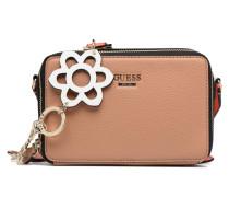 Dania Mini Crossbody Top Zip Handtasche in braun