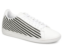 Courtset W Woven Sneaker in weiß