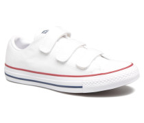 Chuck Taylor All Star 3V Canvas Ox Sneaker in weiß