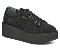 Slip On Boucle Pumps in schwarz