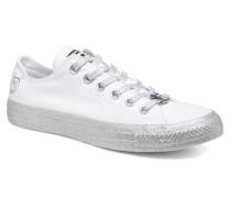 x Miley Cyrus Chuck Taylor All Star Ox Sneaker in weiß
