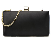 Minaudière satin Mini Bag in schwarz