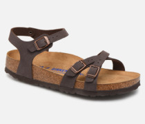 Kumba Flor Soft Footbed W Sandalen in braun
