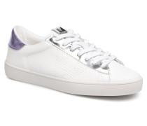 Deportivo Piel Metalizado Sneaker in weiß