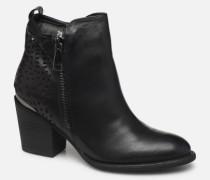 49447 Stiefeletten & Boots in schwarz