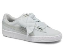 Basket Heart Canvas Wn's Sneaker in blau