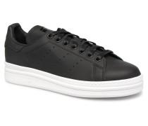 Stan Smith New Bold W Sneaker in schwarz