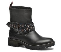 Helen Straps Stiefeletten & Boots in schwarz