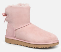 W Mini Bailey Bow II Stiefeletten & Boots in rosa
