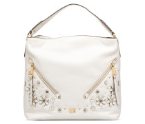 Evie LG Hobo Handtasche in weiß