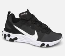 W React Element 55 Sneaker in schwarz
