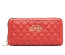 Portefeuille Super Quilted in rot