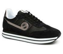 Eden Jogger Sneaker in schwarz