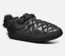 ThermoBall Tent Mule Faux Fur Iv Hausschuhe in schwarz