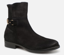 TH Buckle Bootie Stretch Stiefeletten & Boots in schwarz