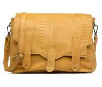 Joy Leather Bag Handtasche in gelb