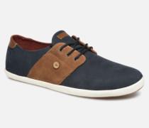 Cypress Leather Suede C Sneaker in blau