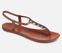 Charm VI Sandal Sandalen in braun