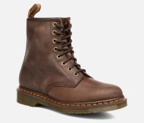 1460 W Stiefeletten & Boots in braun