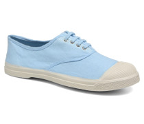 Tennis Lacets Sneaker in blau