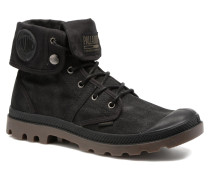 Pallabrouse BGY Wax Sneaker in schwarz