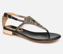 44851 Sandalen in schwarz