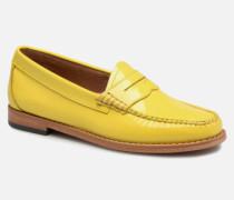 Weejun WMN Penny Wheel Slipper in gelb