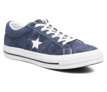 One Star OG Suede Ox W Sneaker in blau