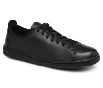Nathan Lace Sneaker in schwarz