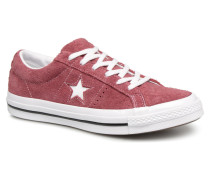 One Star Ox W Sneaker in weinrot